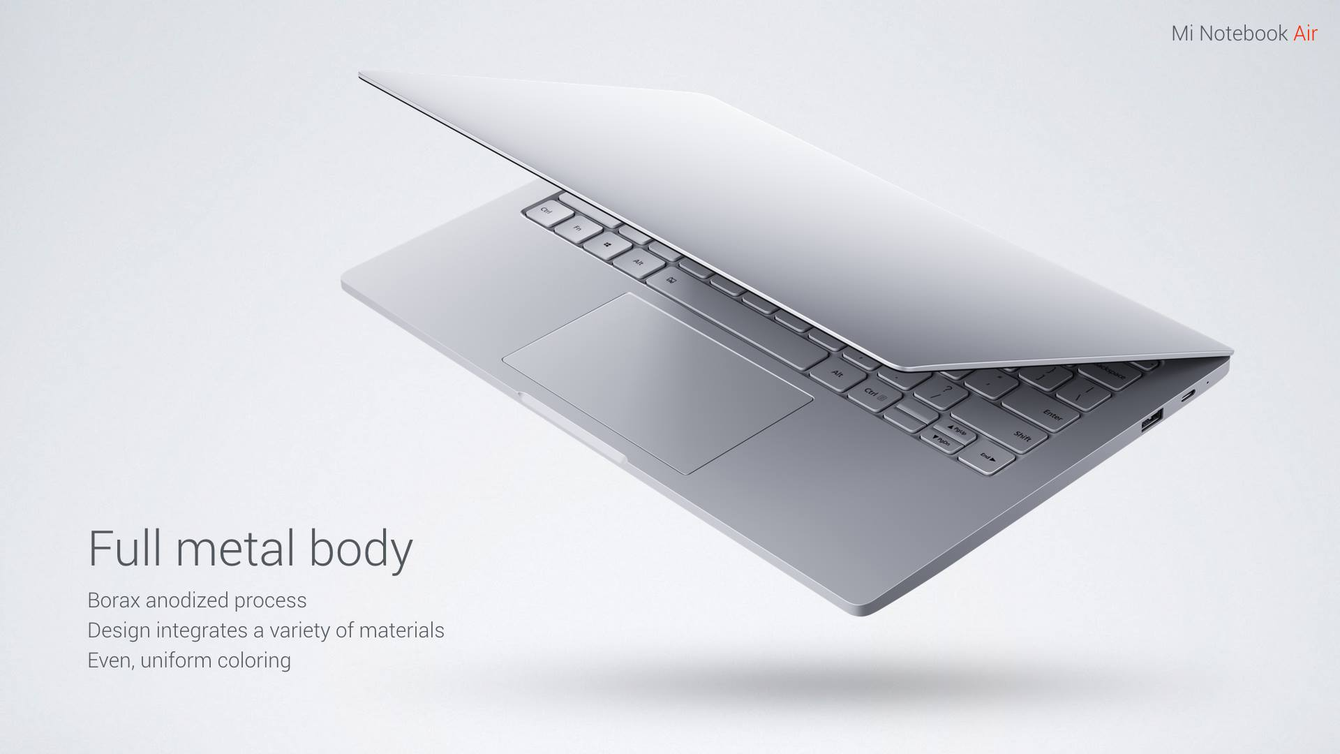 Mi Notebook Air Body