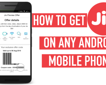 Trick to Generate Reliance Jio Preview Offer Code on Any Android Phone.