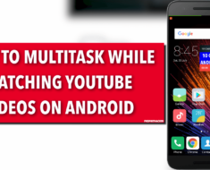 How to Multitask while watching Youtube Videos in Android