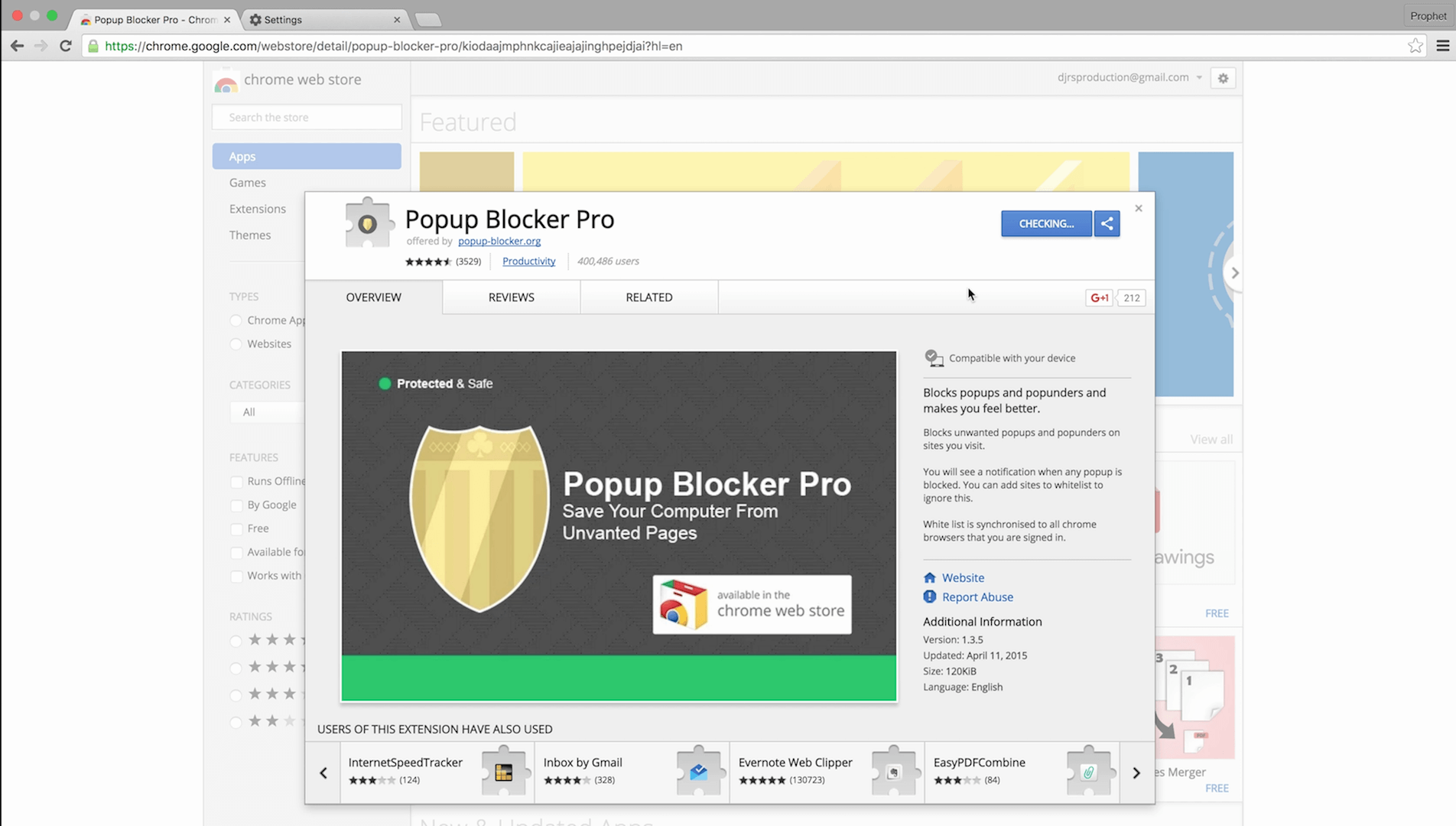 pop up blocker chrome aktivieren