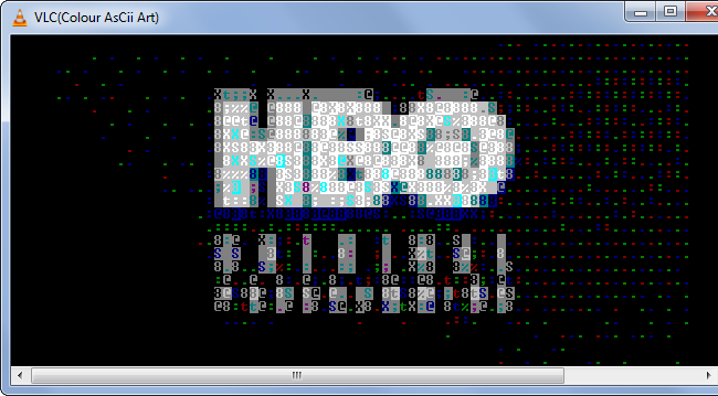 Play Video As ASCII Characters