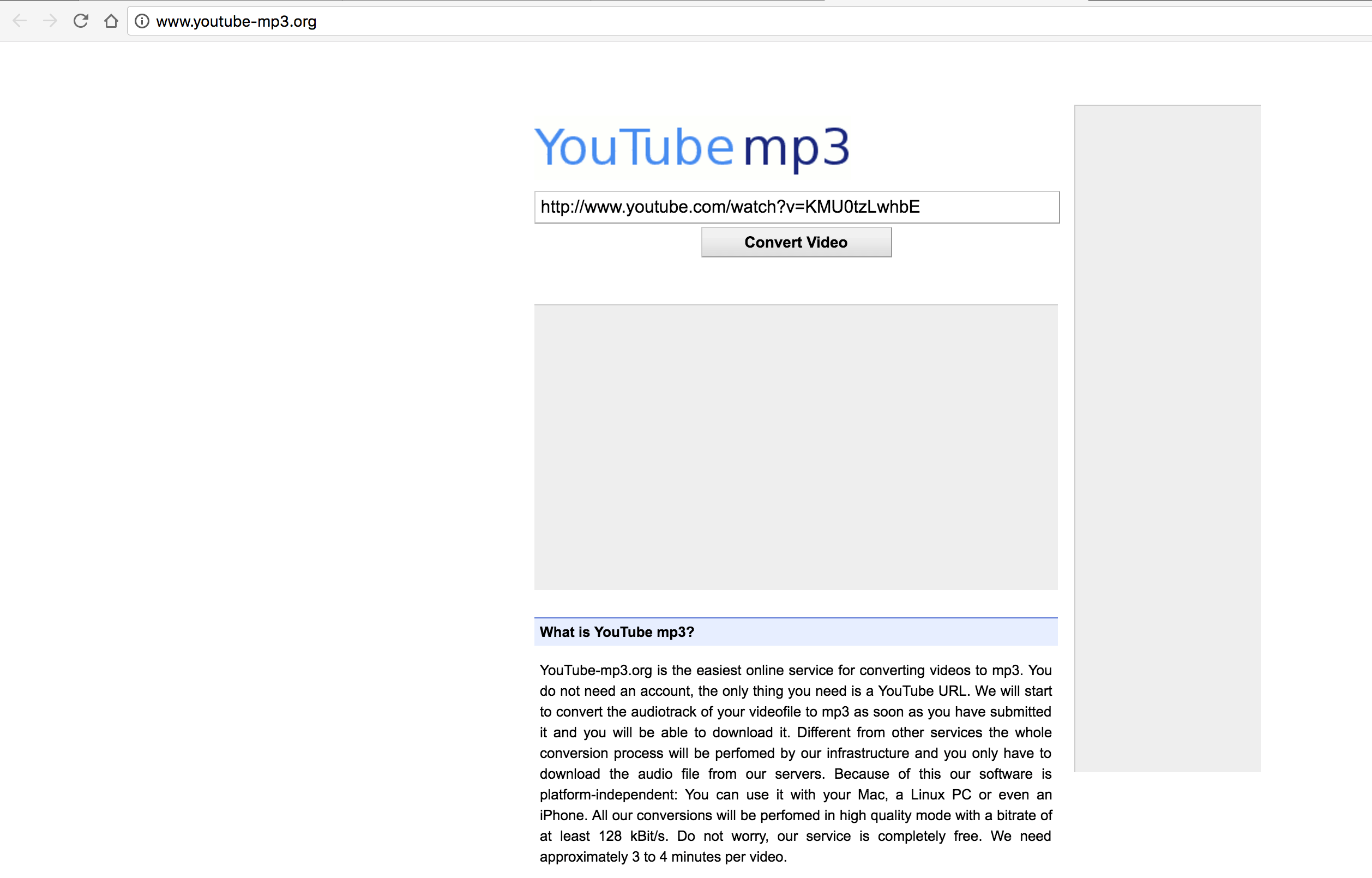 YoutubeMP3 - Best Website for Converting Youtube to MP3