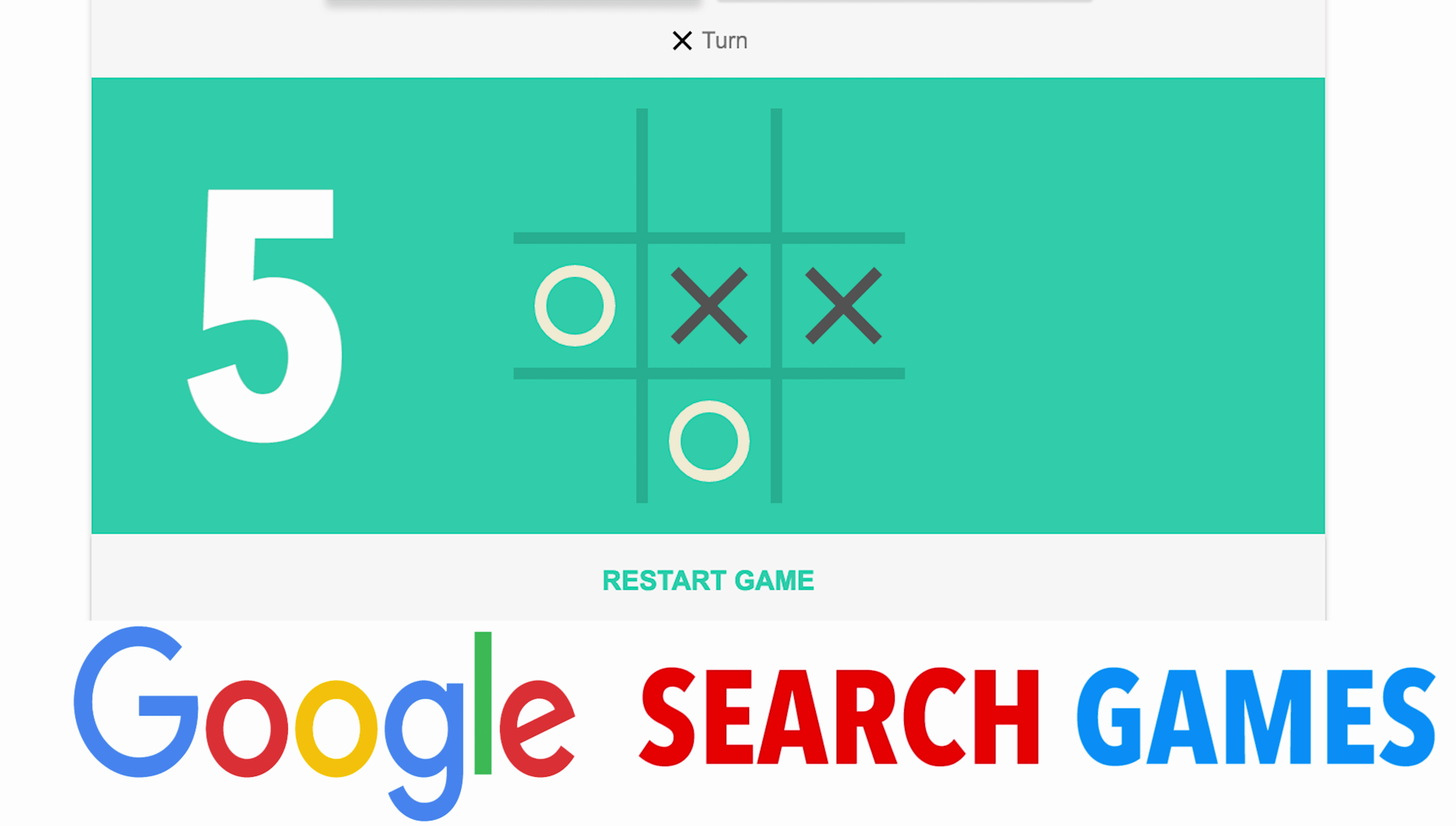 Top 5 Coolest Hidden Game In Google Search