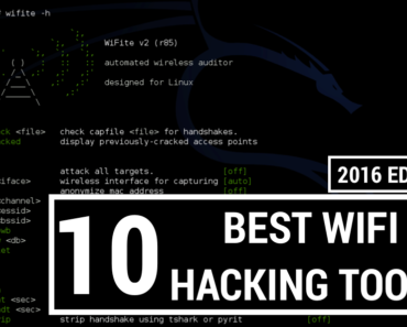 Top 10 Best Wifi Hacking Tools in Kali Linux OS