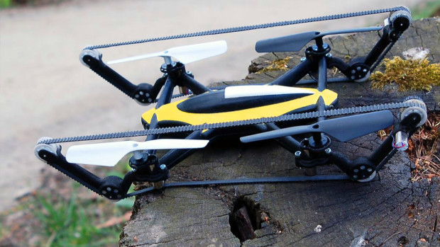 B-Unstoppable World's First TankCopter Drone