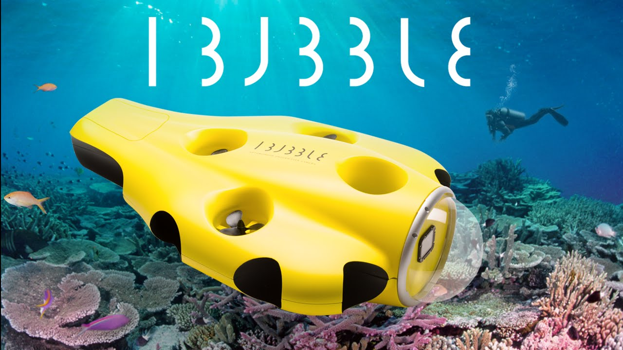 iBubble: Your Autonomous Underwater Camera