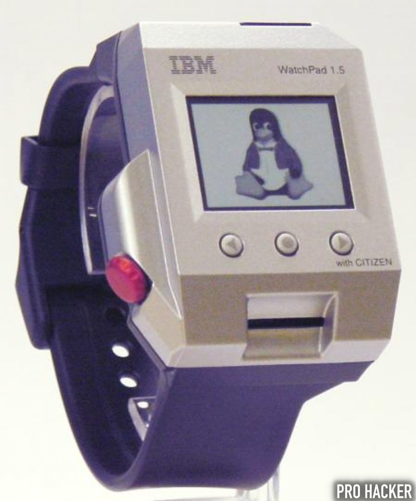 IBM Watches runs on Linux