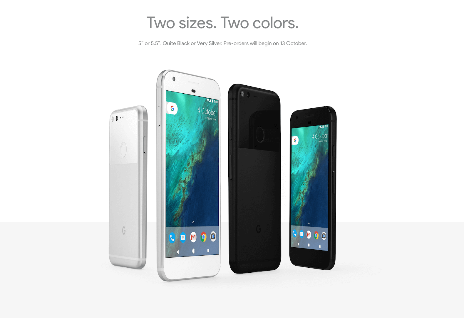meet �pixel� amp �pixel xl� by google iphone competitor