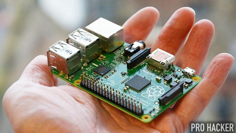 Rasperry pi runs on Linux