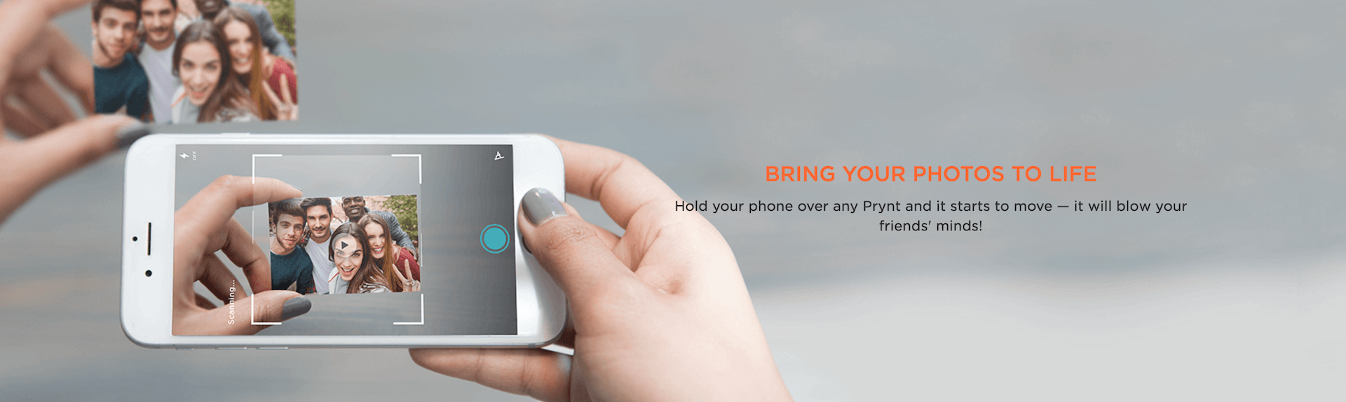 Prynt -the first instant camera case for iPhone