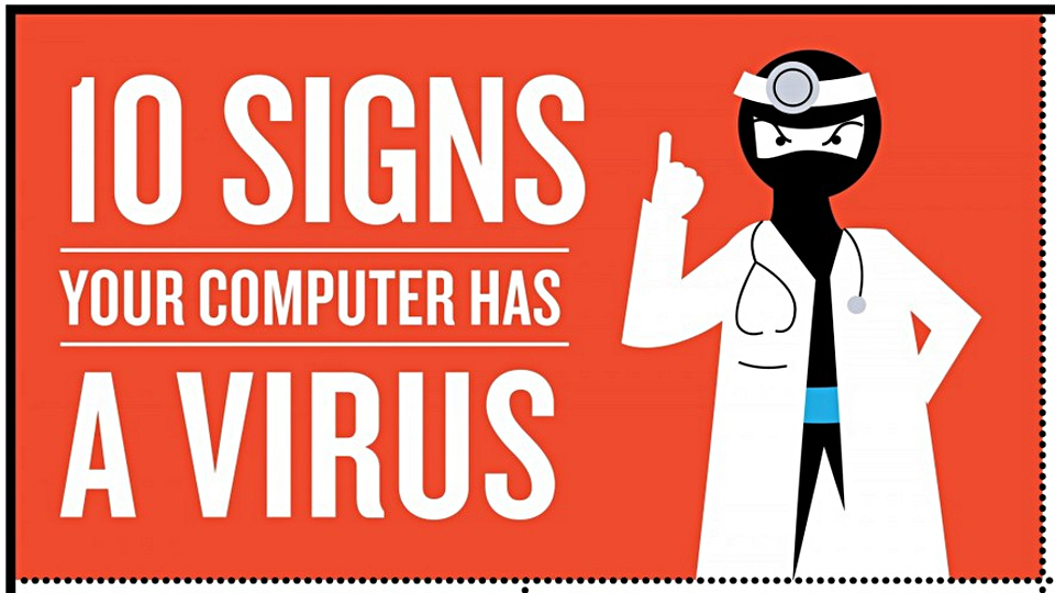 10 Signs Your Window Computer Has A Virus