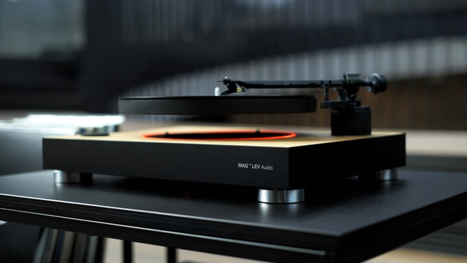 MAG-LEV Audio | The First Levitating Turntable