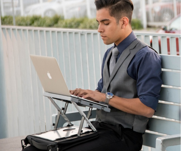 A-STAND: A Transformable Workstation for Devices