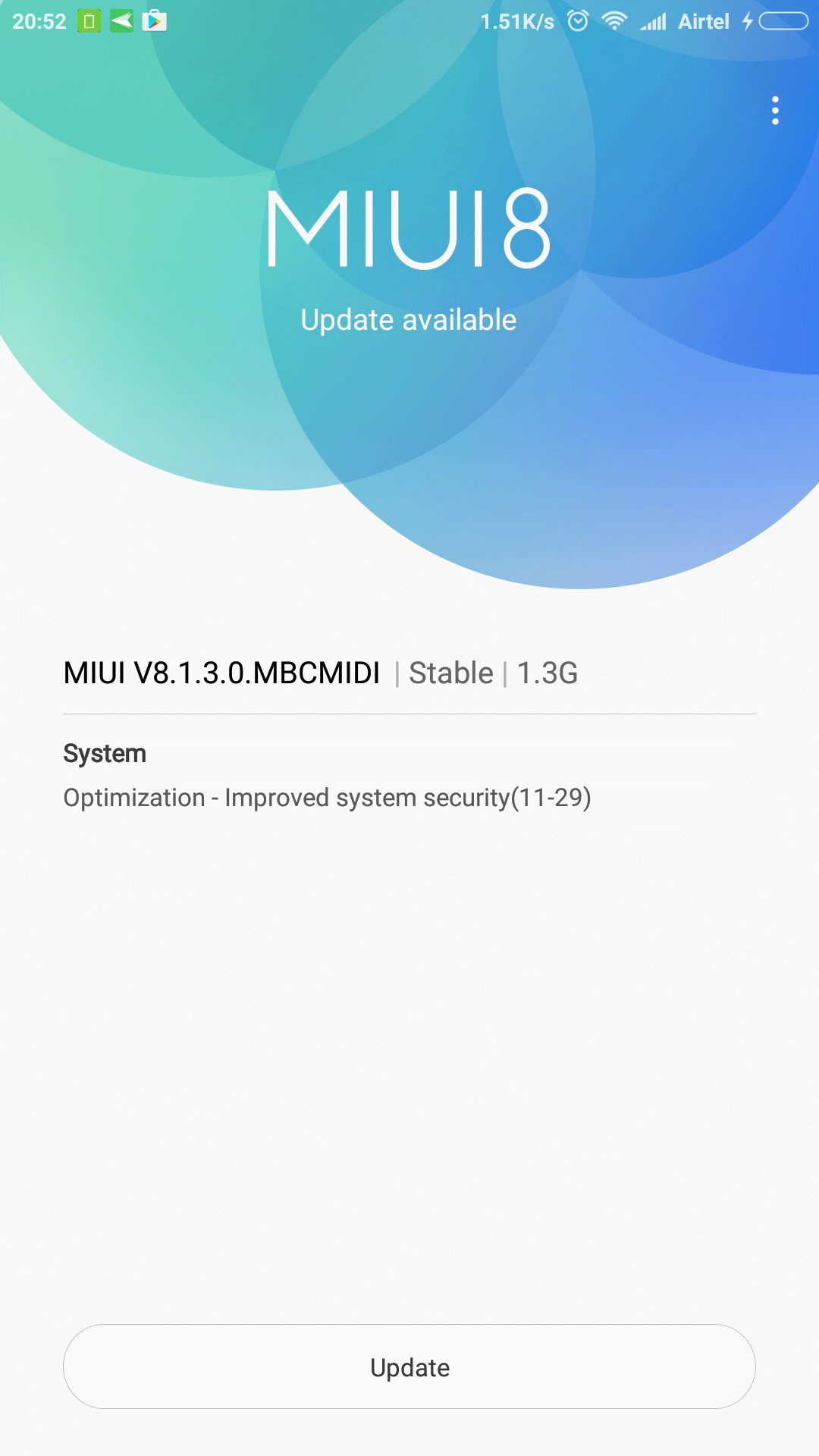 Update your OS