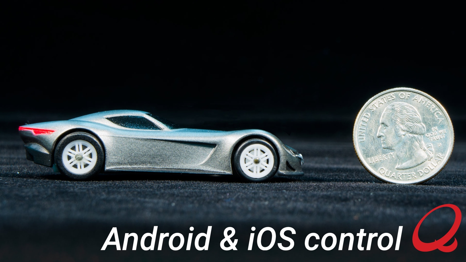 World's Smallest Smartphone Controlled Car by Quantow