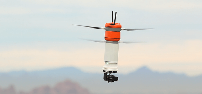 Sprite: portable and rugged. A totally different drone