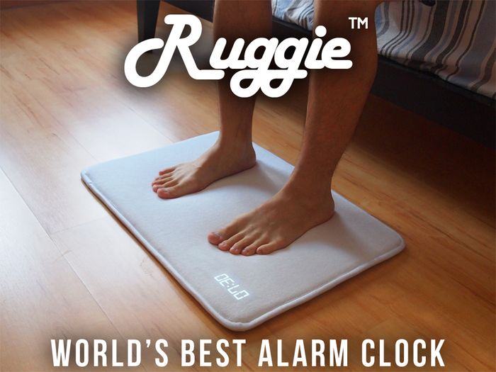 Ruggie - The World's Best Alarm Clock