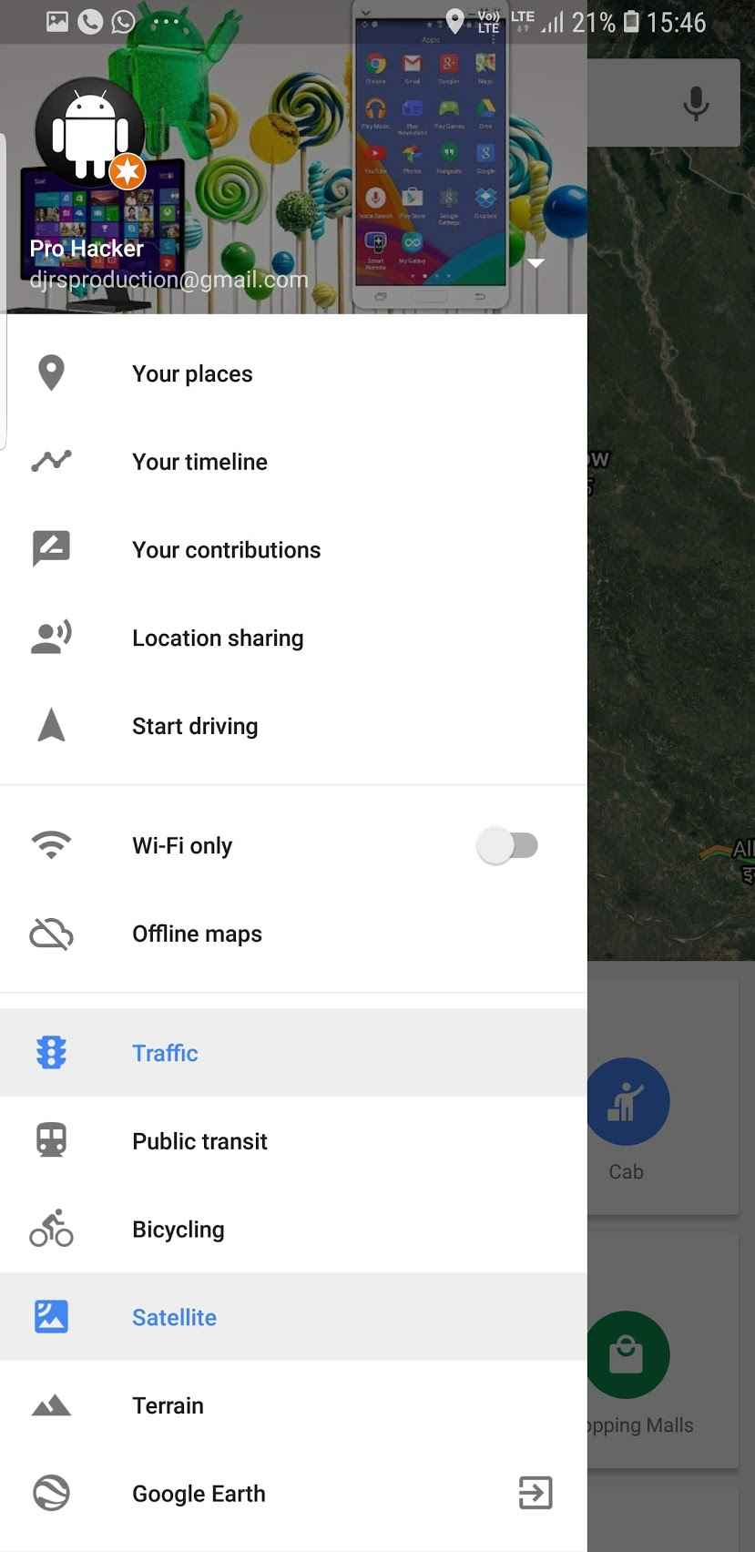 How to share your location with Google Maps