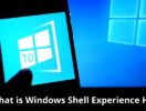 What is Windows Shell Experience Host? Why is It using High Memory