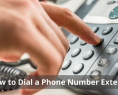 How to Dial a Phone Number Extension