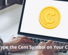 How to Type the Cent Symbol on Your Computer