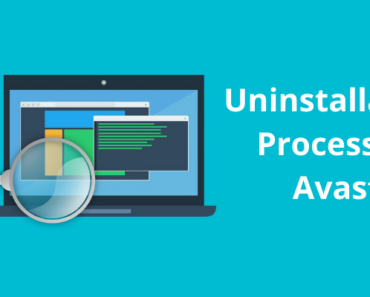 Uninstallation Process of Avast